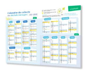 Calendrier Poubelle 2022 Collecte des déchets : nouveau calendrier et nouveau service